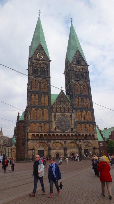 ドイツ大周遊(10) ブレーメンの市内観光。