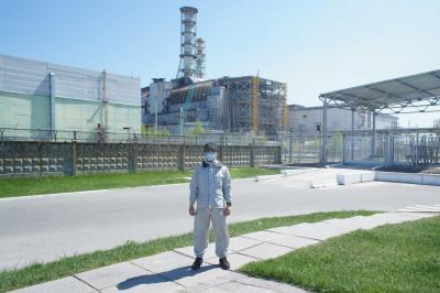 ツアーで訪れるチェルノブイリ原発事故現場ー新石棺完成間近ー