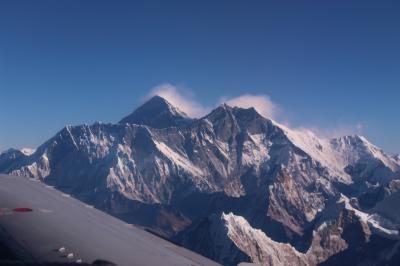ネパール'17~'18④~マウンテンフライトとカトマンドゥ盆地の世界遺産