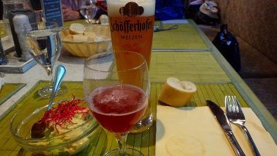 ドイツ大周遊(24) ポツダムの観光を終え昼食を摂りました。