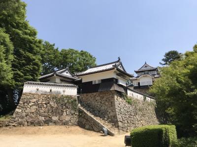 岡山旅行その2 備中松山城と倉敷美観地区