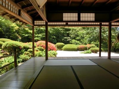 昔の仲間と、今年は奈良・京都その2:洛北の名刹圓通寺、詩仙堂。