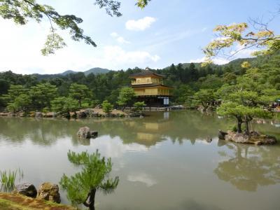 昔の仲間と、今年は奈良・京都その3:金戒光明寺、金閣寺。