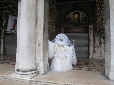 ベネチア再訪☆2夢のカーニヴァル カーニヴァルのヴェネチアで美術館巡り