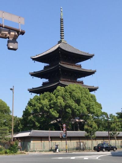 夜行バスとパン屋さん、京都一泊二日の旅