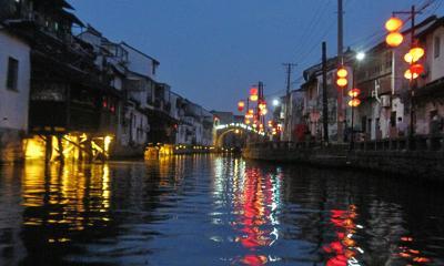 蘇州京杭大運河クルーズ