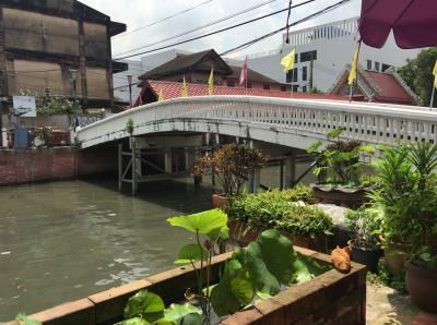 バンコク旧市街を彷徨う-2018/05/14 最終日も運河カフェそしてヤワラーへ