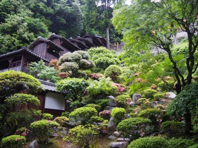 由加神社本宮と由加山蓮台寺