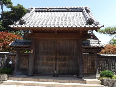 JR番場駅脇のお屋敷