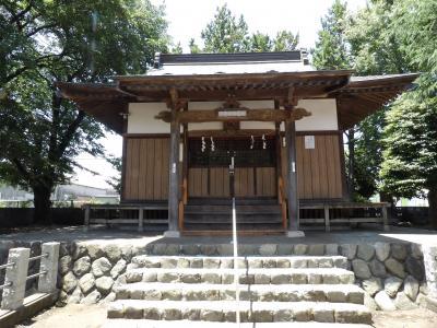 番田諏訪神社(相模原市中央区上溝)