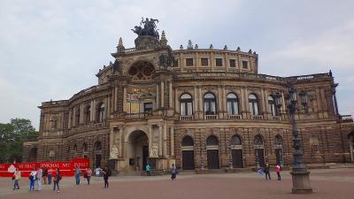 ドイツ大周遊(34) ドレスデンの観光 上巻。