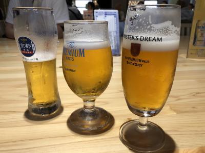 サントリー山崎とサントリービール京都工場見学と天王山ハイキング