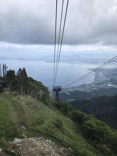 琵琶湖テラスから小女郎ヶ池までゆるゆるハイキング