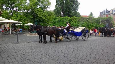 ドイツ大周遊(39) ワイマールの観光 上巻。