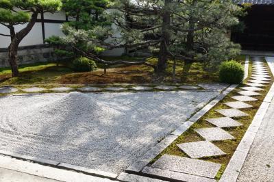2018年初夏、建仁寺両足院の苔庭と菊乃井本店