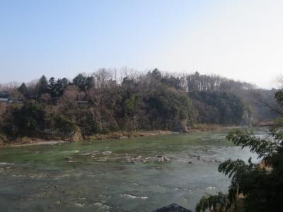 2018 MAR【日本100名城No.18】鉢形城  荒川の崖の上に築かれた北条氏の北関東の拠点