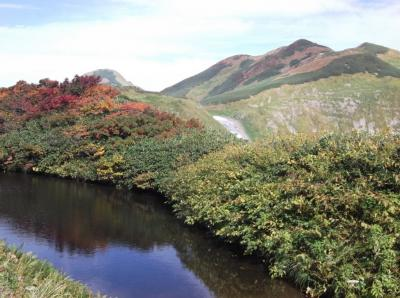 秋の飯豊連峰