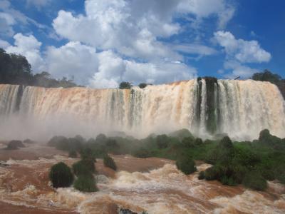 南米2018旅行記 【18】イグアスの滝(ブラジル側)3(悪魔ののどぶえ)