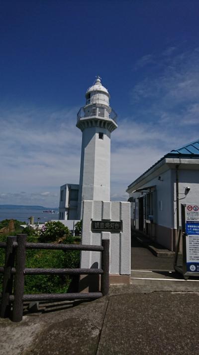 観音崎灯台へ行ってきました。