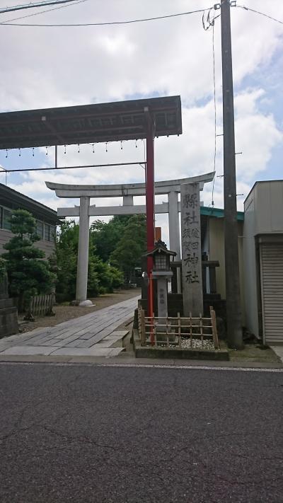 結城で神社へ行ってきました。「健田須賀神社」