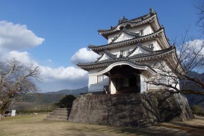2018.02 四国バースデー切符の旅(12)宇和島にてお城巡りと鯛めしを食す