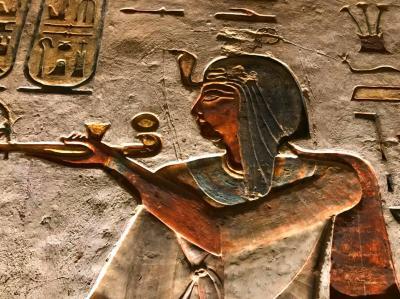 エジプト古代文明への旅 ③(ルクソール西岸地区・メムノンの巨像~王妃の谷~職人の村)
