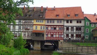 ドイツ大周遊(42) エアフルトの観光後、ホテルにチェック・インし、夕食を摂りに出かけました。