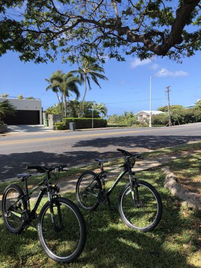 JAL SKY SUITE IIIで行くハワイ7日間@カハラリゾート3泊目④=ホテルの自転車でワイキキへ=