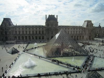 2013.10 パリ ② ルーブル美術館~コンコルド広場~凱旋門