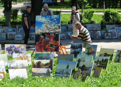 Russia ロシアを楽しむ(7/12)             スーズダリのトルゴバヤ広場