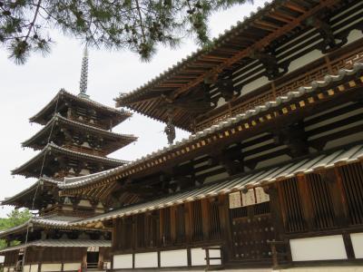 世界最古の木造建造物・法隆寺とその周辺の寺を巡る
