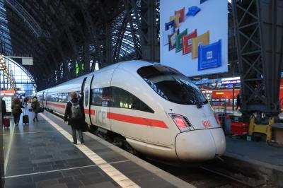 ドイツ鉄道の旅 バウハウスを訪ねて・・・ICEでワイマールへ