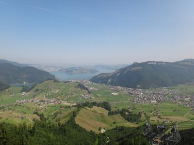 2015年列車とケーブルで巡るスイスの旅1/11 シュタンザーホルン