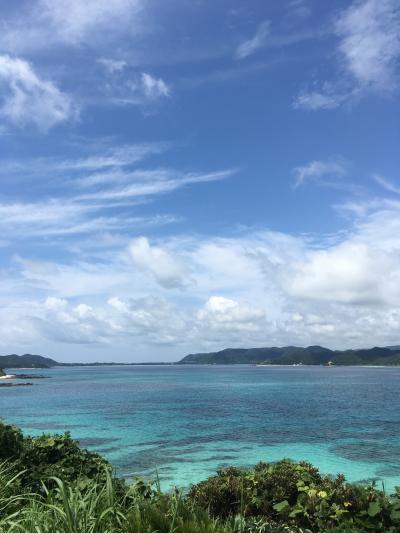 梅雨真っ只中の奄美大島