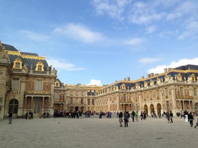 2013.10 パリ ④ ヴェルサイユ宮殿 ~ エッフェル塔