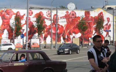 Russia ロシアを楽しむ(11/12)      町あるきと人々