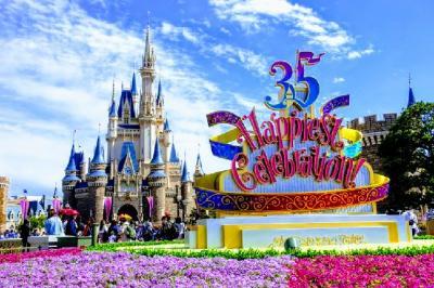 祝!東京ディズニーリゾート35周年 (1) Happiest Celebration! 【TDL編】