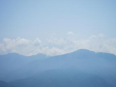 梅雨入り前に・・乗鞍、上高地、甲府見延山へ。③甲府見延山編