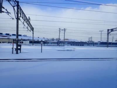 雪まつりが見たくて札幌(1)JAL空旅で極寒の北海道へ
