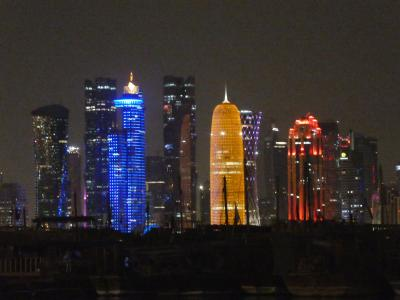カタール / ドーハ 初めての中東!美しい夜のドーハをふらふらり