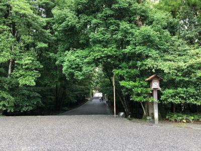 しまかぜで伊勢神宮の式年遷宮祈祷へ。おかげ横丁で、松坂牛、赤福も。