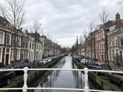 オランダデルフト女一人旅