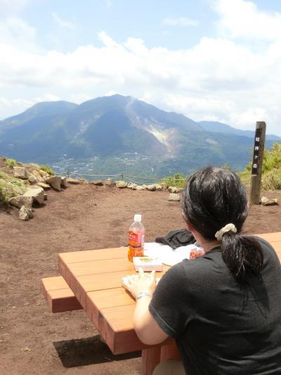 箱根へ。その2 明神ケ岳に登りました。