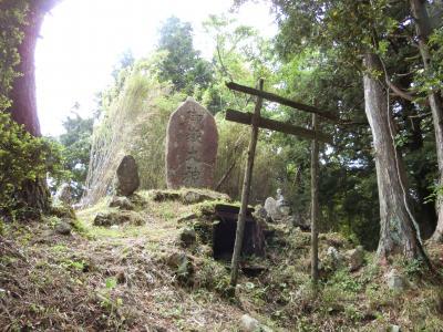 箱根へ。その3  明神ケ岳から明星ケ岳へ縦走しました。