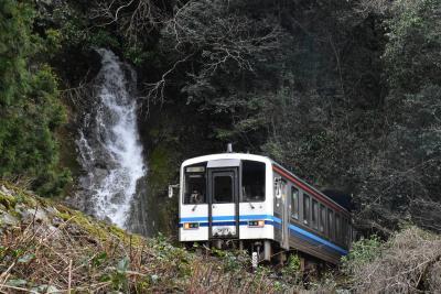 春の三江線と邑南町矢上駅を訪ねて~鳴滝の魅力と蔵ワッペン~(島根)