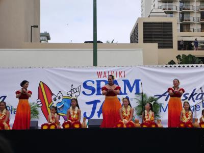 2018ハワイ 3日目後編 スパムジャム、楽しみました!
