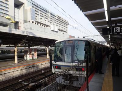 京都奈良へ(11)みやこ路快速で京都から奈良へ