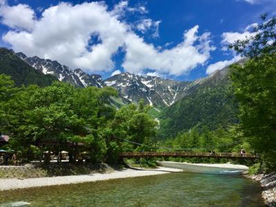 上高地、新穂高、安曇野、松本旅行 夫婦ドライブ旅
