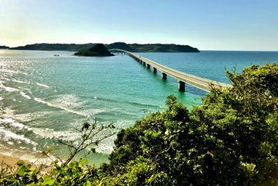 2018 大人の修学旅行、広島へ 4.此処まで来たら欲張りたい『角島大橋』