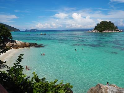 《タイ》最後の楽園リペ島で真冬の夏休み♪